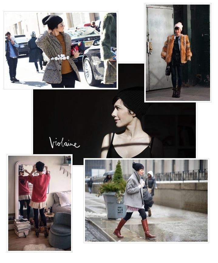 Style Inspiration-Violaine Bernard