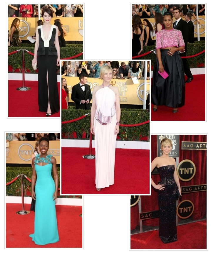 My Top SAG Awards Looks